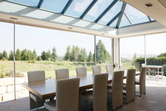 Tetto in vetro alluminio doria group infissi pvc for Tetto in vetro prezzi